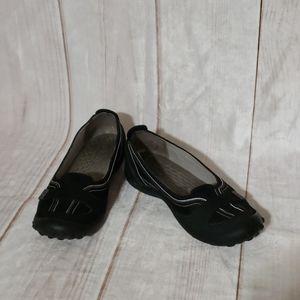 Privo Black Slip-on Loafers SZ 9